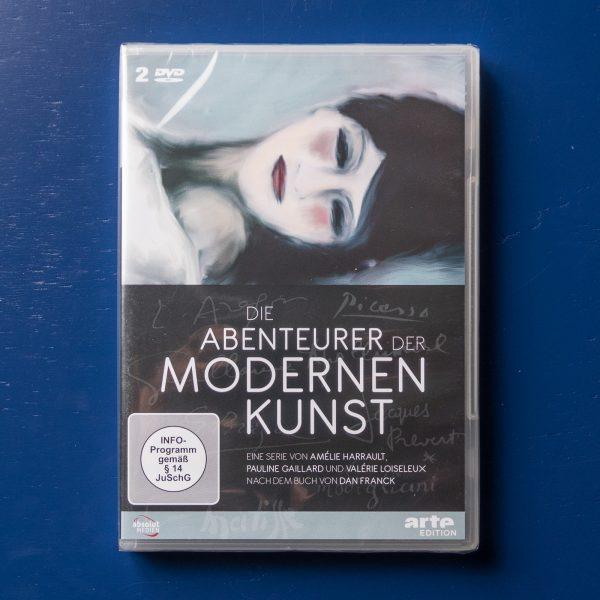 Die Abenteurer der modernen Kunst, 2DVDs