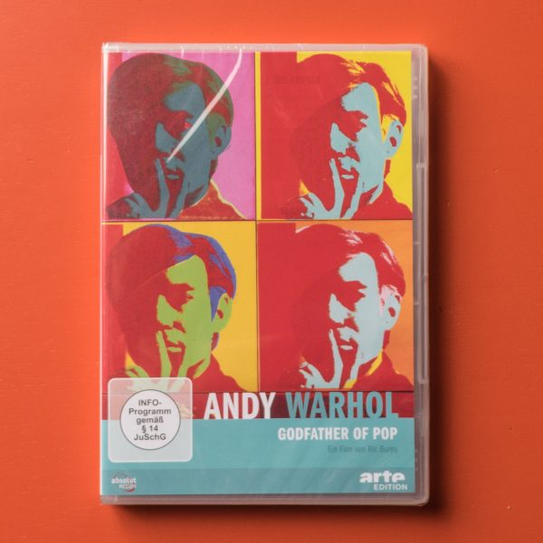 "Andy Warhol/ Godfather of Pop, 1 <span class=""caps"">DVD</span>"