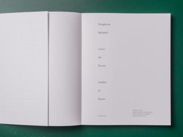 Archiv der Räume/Archive of Spaces
