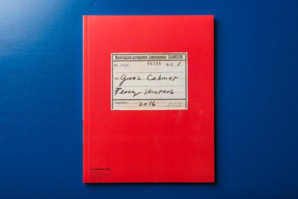 Das Kabinett des Malers Terry Winters