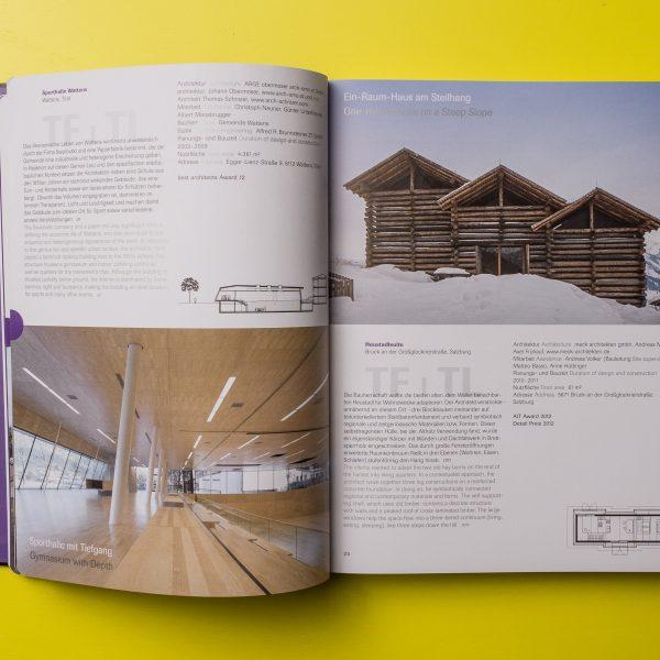 Best of Austria, Architektur 2012–13