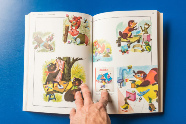 Works by the French Illustrator from the 1960s-70s