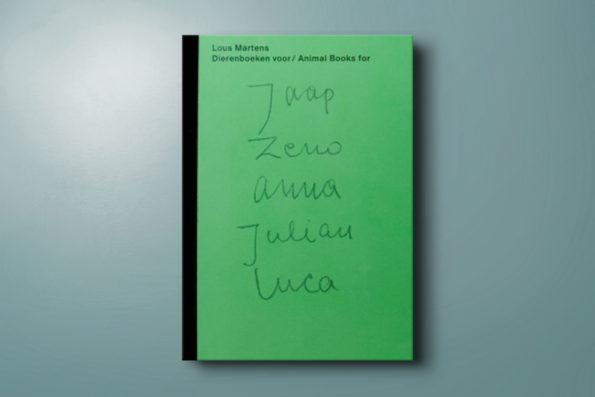Dierenboeken voor/Animal books for Jaap Zeno Anna Julian Luca