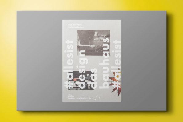 Das Bauhaus 'allesistdesign'