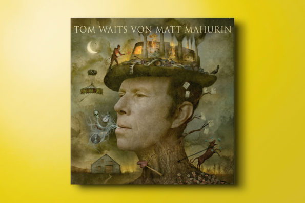 Tom Waits von Matt Mahurin