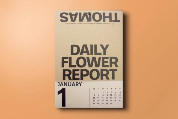 A Flower a day. Calendar 2020